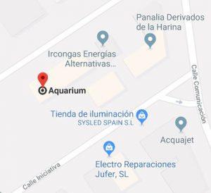 ubicación AQUARIUM